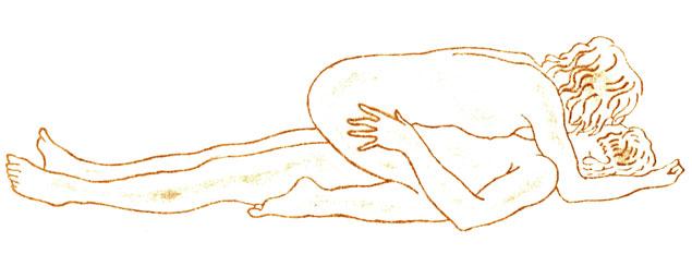 Удобное положение во влагалище пениса — photo 11