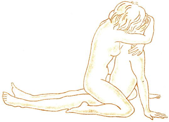 Позы в сексе при разных расположениях полового члена